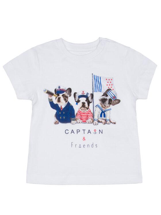 Mayoral Mayoral T-Shirt 1017 Λευκό Regular Fit