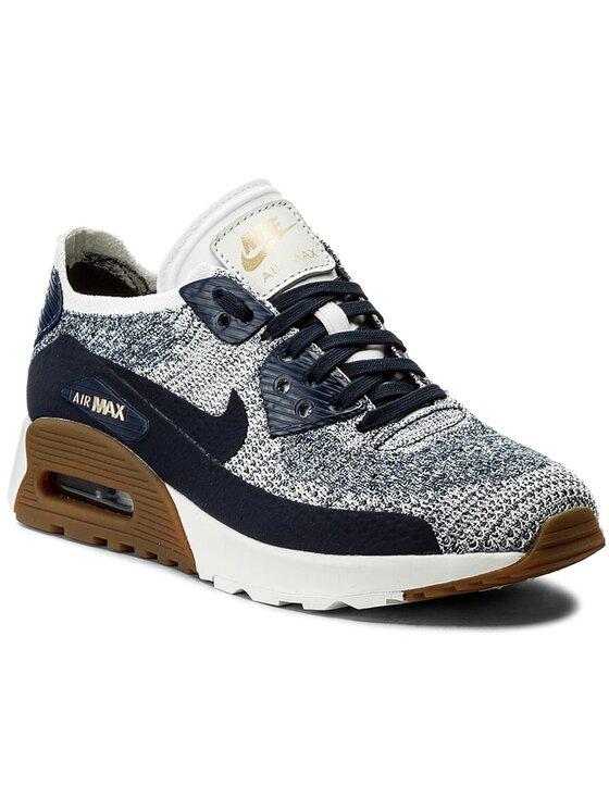 Nike Chaussures W Air Max 90 Ultra 2.0 Flyknit 881109 400 Bleu marine