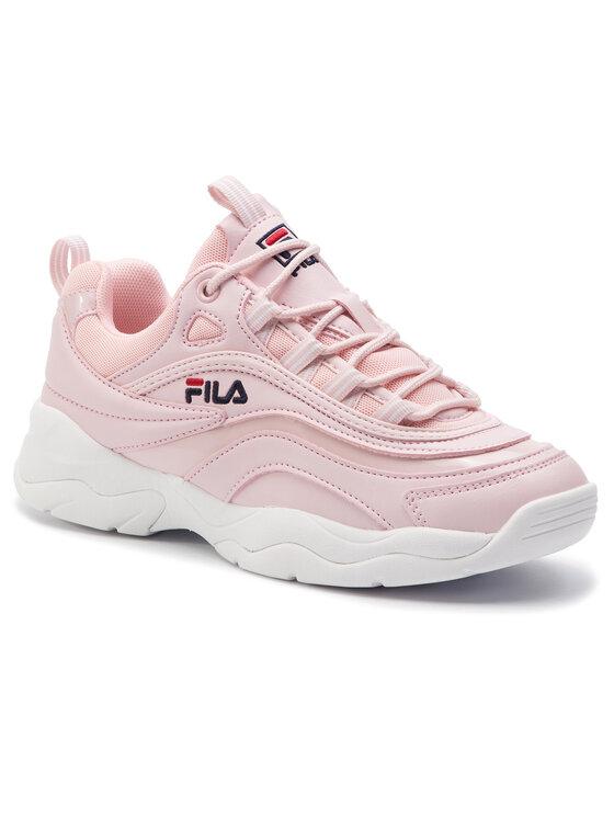 Fila Fila Sneakersy Ray F Low Wmn 1010613.71D Różowy