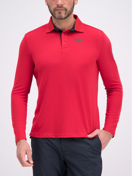 Helly Hansen Helly Hansen Polo marškinėliai Skagen Quickdry 34046 Raudona Regular Fit