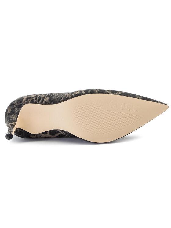 Guess Guess Pantofi cu toc subțire Okley6 FL7OK6 SUP08 Negru