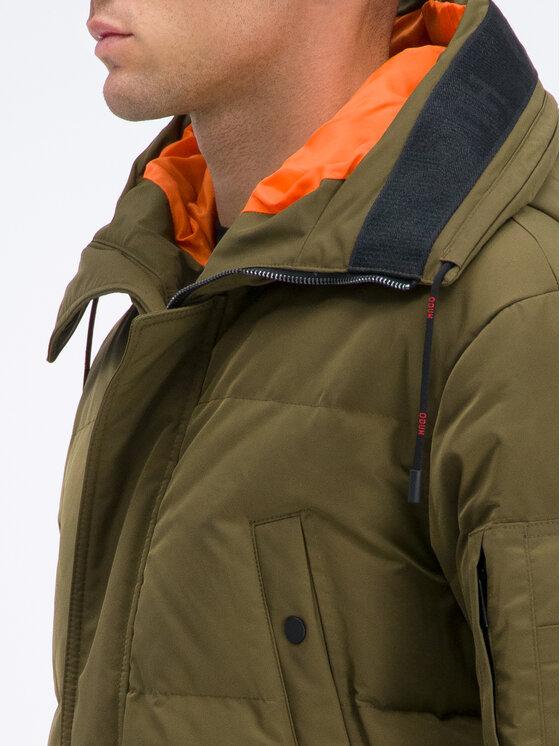 Hugo Hugo Veste d'hiver Melmus1941 50411520 Vert Relaxed Fit