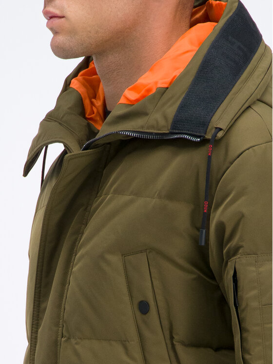 Hugo Hugo Zimná bunda Melmus1941 50411520 Zelená Relaxed Fit