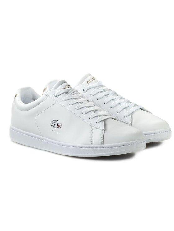 Lacoste Lacoste Κλειστά παπούτσια Carnaby EVO CTR SPM 7-28SPM020521G Λευκό