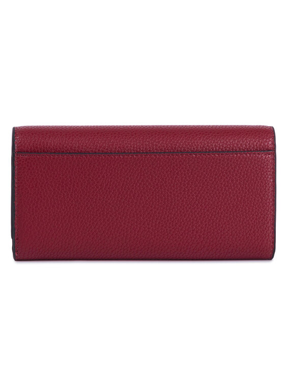 Calvin Klein Calvin Klein Duży Portfel Damski Re-Lock Lrg Trifold K60K605682 Czerwony