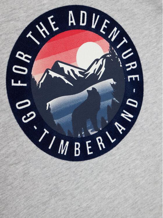 Timberland Timberland Bluzka T25R23 D Szary Regular Fit