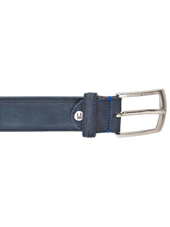 Tommy Hilfiger Tommy Hilfiger Мъжки колан Thierry Belt 3.5 Adj BM56927368 Тъмносин
