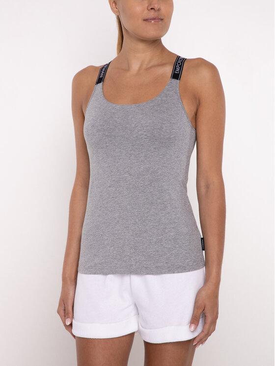 Emporio Armani Underwear Emporio Armani Underwear Топ 164160 9P317 00748 Сив Slim Fit
