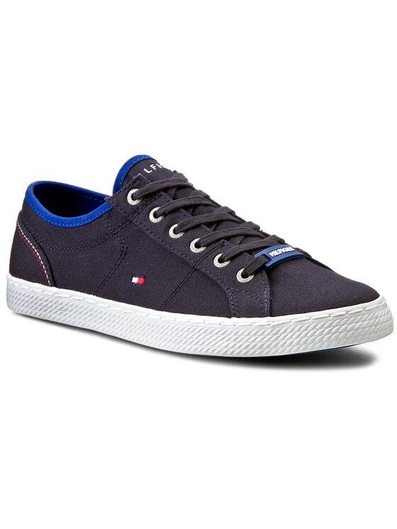 Tommy Hilfiger Tommy Hilfiger Πάνινα παπούτσια Int-Donnie 1 D-1 FM56819402 Μπλε