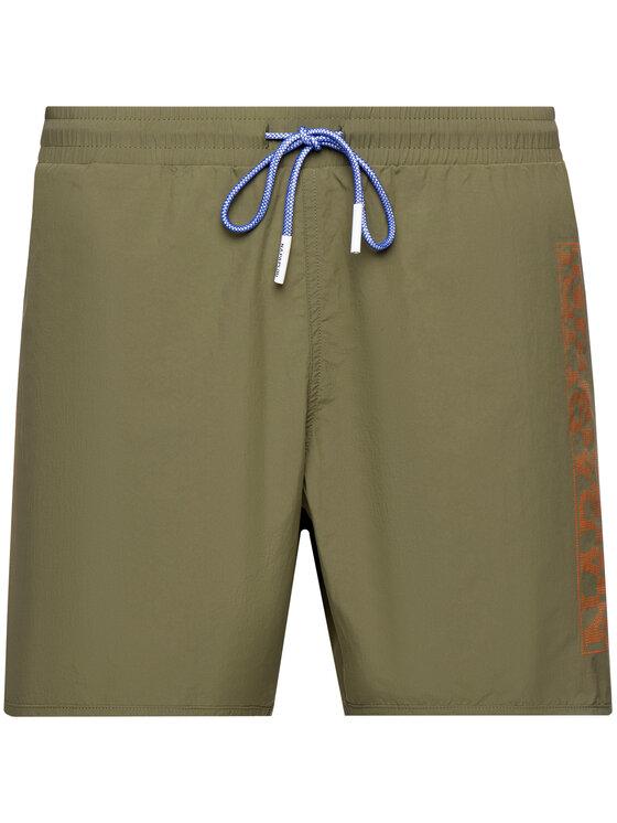 Napapijri Napapijri Pantaloncini da bagno Trunks Varco N0YHST Verde Regular Fit