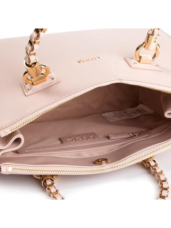 Liu Jo Liu Jo Дамска чанта M Satchel N19093 E0040 Розов