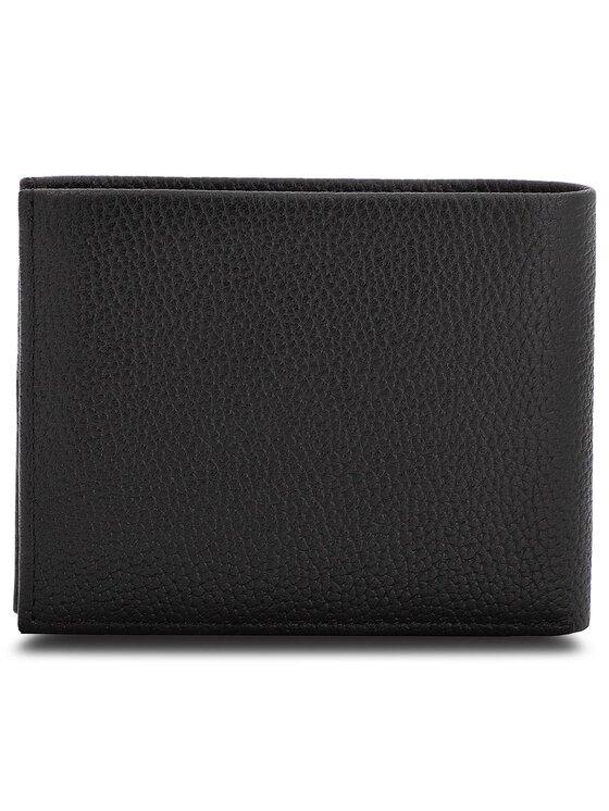 Calvin Klein Calvin Klein Nagyméretű férfi pénztárca Pebble W Plaque 10CC K50K503936 Fekete