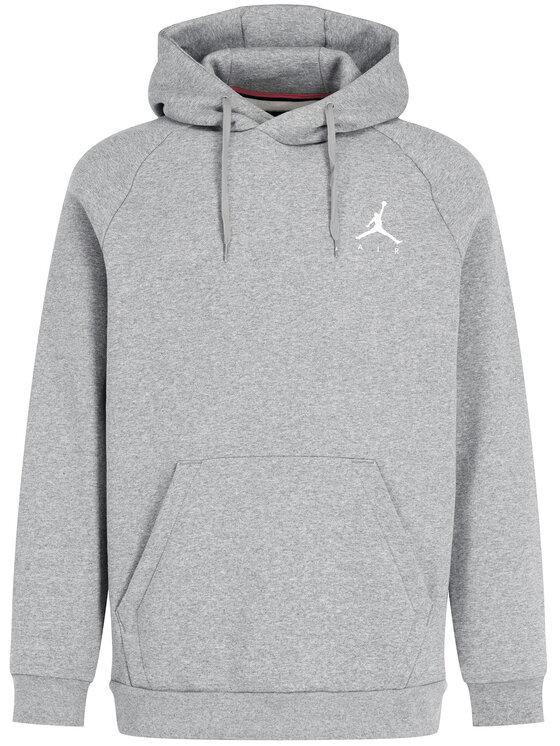 Nike Nike Mikina Jordan Jumpman 940108 Sivá Regular Fit