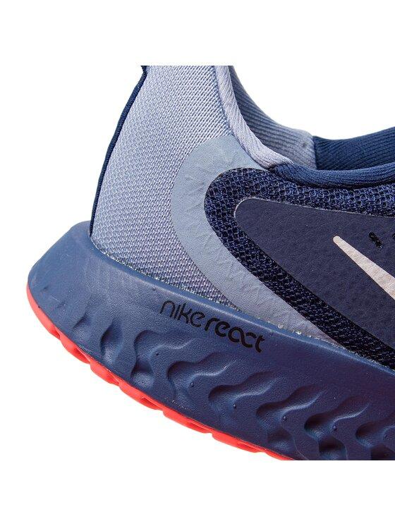 Nike Nike Chaussures Legend React (GS) AH9437 401 Bleu marine