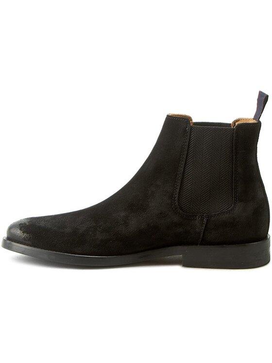 Gant Gant Kotníková obuv s elastickým prvkem Max 13653354 Černá