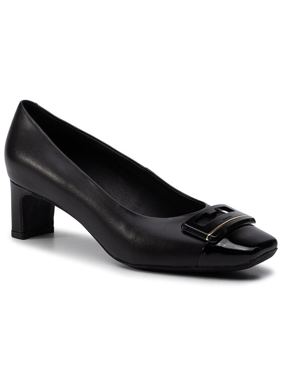 Geox Geox Κλειστά παπούτσια D Vivyanne M. A D94BAA 0KF66 C9999 Μαύρο