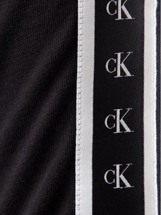 Calvin Klein Jeans Calvin Klein Jeans Marškinėliai Monogram J30J313252 Juoda Regular Fit
