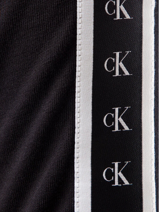 Calvin Klein Jeans Calvin Klein Jeans Tričko Monogram J30J313252 Čierna Regular Fit