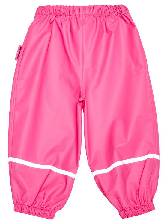 Playshoes Playshoes Spodnie materiałowe 405421 D Różowy Regular Fit