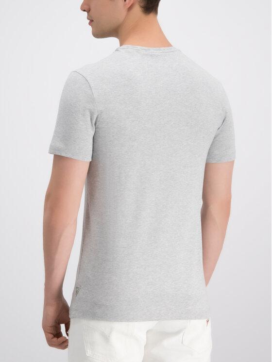 Guess Guess T-shirt M92I33 J1300 Grigio Super Slim Fit