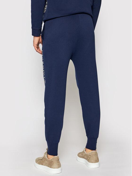 Polo Ralph Lauren Polo Ralph Lauren Spodnie dresowe Loop Back 714830292002 Granatowy Regular Fit