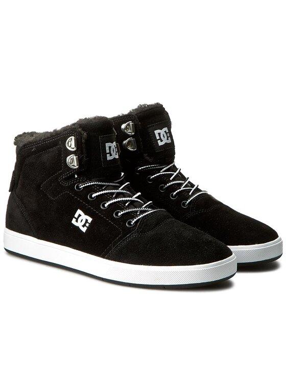 DC DC Sneakersy Crisis High Wnt ADYS100116 Czarny