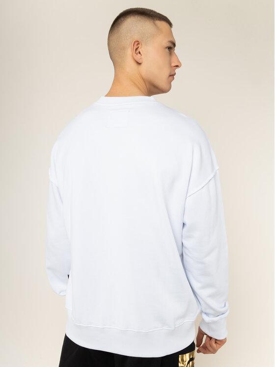 Versace Jeans Couture Versace Jeans Couture Džemperis B7GVA7TK Balta Regular Fit