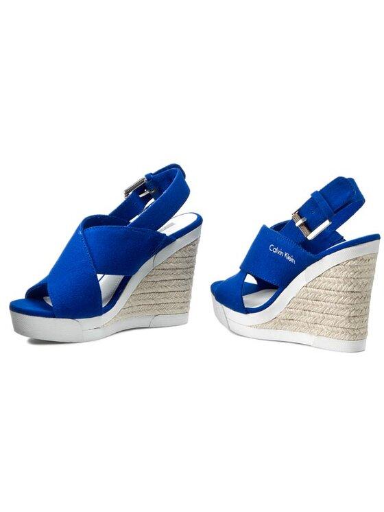 Calvin Klein Jeans Calvin Klein Jeans Espadrillas Elaine RE9519 Blu