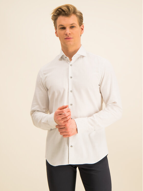 Baldessarini Marškiniai 41232/000/4966 Pilka Regular Fit