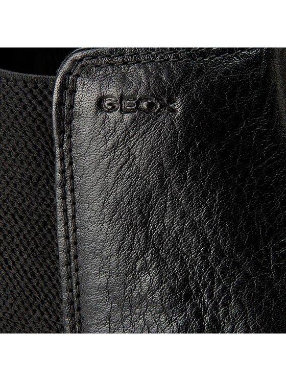 Geox Geox Μποτάκια με λάστιχο U Jaylon E U54Y7E 00046 C9999 Μαύρο