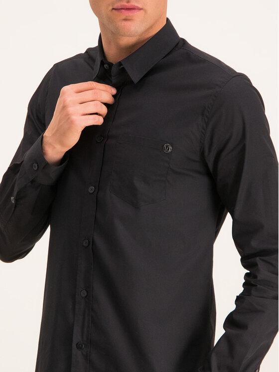 Versace Jeans Versace Jeans Košile B1GTB6S1 Černá Slim Fit
