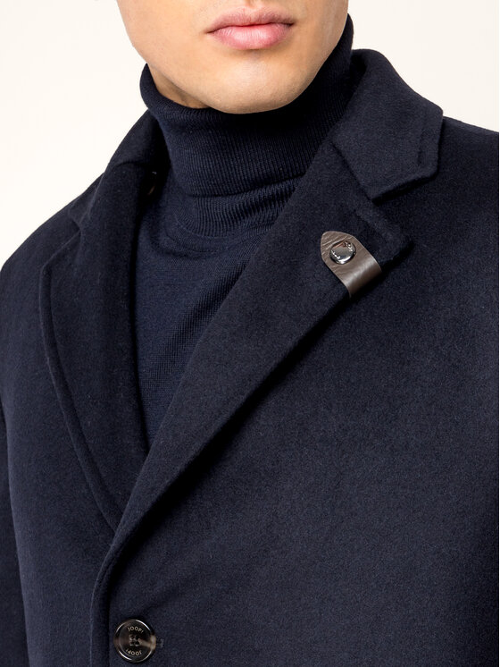 Joop! Joop! Вълнено палто Morris 20 30018010 Тъмносин Regular Fit