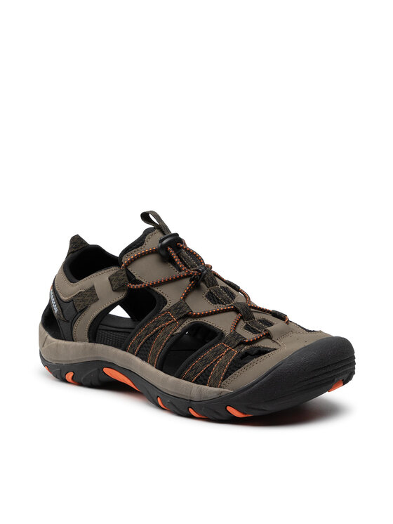 Bergson Basutės Sobat Hiking Sandals Žalia