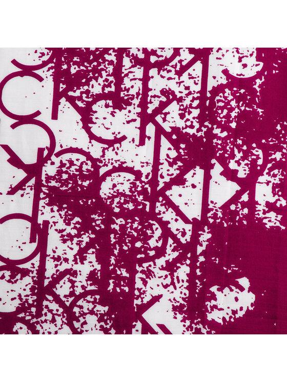 Calvin Klein Calvin Klein Chusta Spray Print Foulard K60K605147 Bordowy