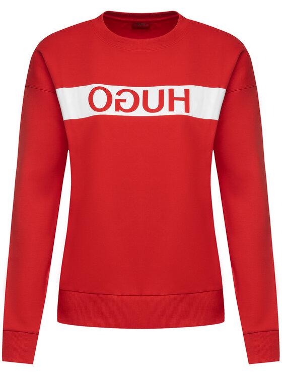 Hugo Hugo Μπλούζα Nacita 50433175 Κόκκινο Relaxed Fit