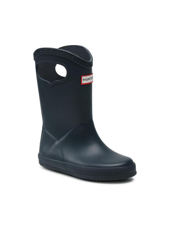 Hunter Guminiai batai Kids First Classic Pull-On KFT5036RMA Tamsiai mėlyna
