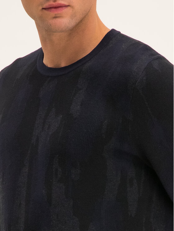 Hugo Hugo Sveter Sarmino 50414480 Čierna Regular Fit