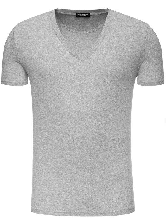 Dsquared2 Underwear Dsquared2 Underwear T-Shirt D9M452280 Szary Regular Fit