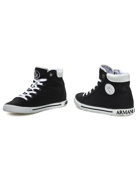 Armani Jeans Armani Jeans Sportbačiai V5506 32 12 Juoda