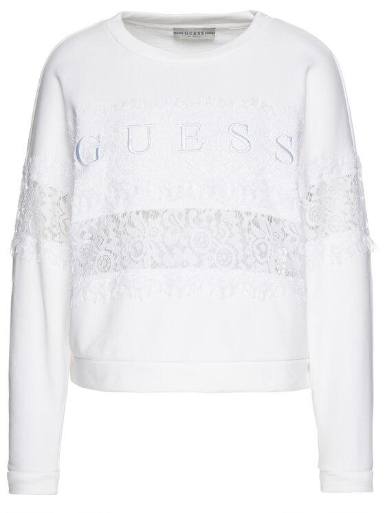 Guess Guess Sweatshirt W93Q54 K7EX0 Blanc Oversize