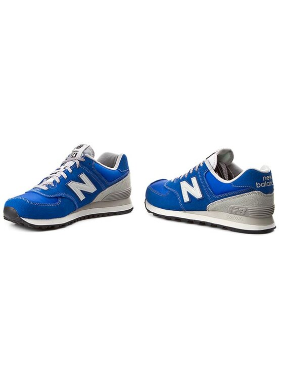 New Balance New Balance Półbuty Lifestyle ML574VNR Niebieski