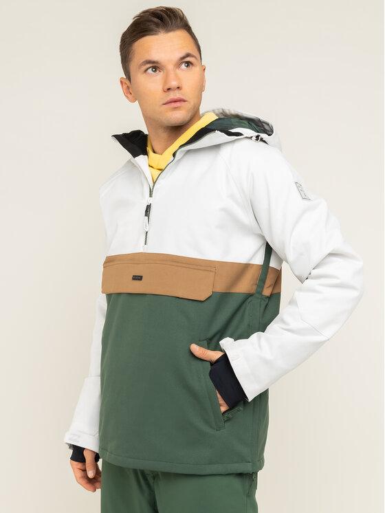 Billabong Anorak stiliaus striukė Stalefish Anorak Q6JM15 BIF9 Balta Regular Fit