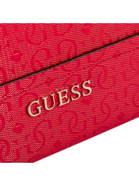 Guess Guess Duży Portfel Damski Delaney (GE) SLG SWGE45 35460 Czerwony