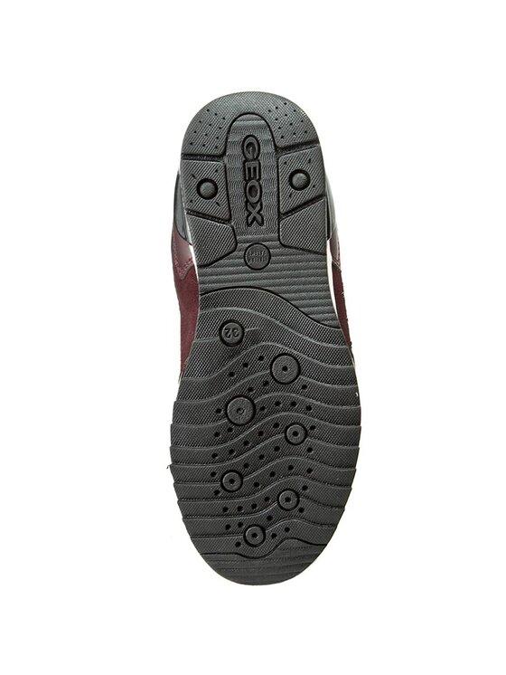 Geox Geox Sneakersy J Maise G.C J6403C 022BC C7357 Bordowy