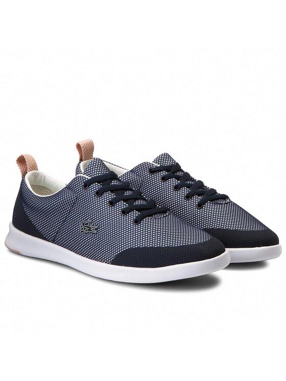 Lacoste Lacoste Sneakers aus Stoff Avenir 218 1 Spw 7-35SPW00036NO5 Dunkelblau
