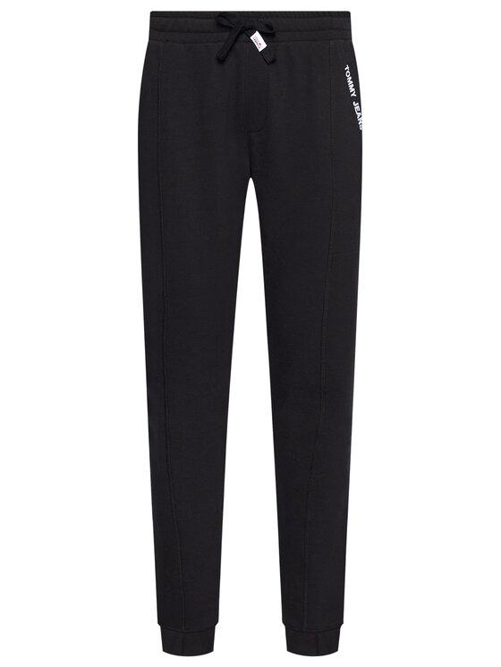 Tommy Jeans Tommy Jeans Spodnie dresowe Tjm Scanton DM0DM10605 Czarny Slim Fit