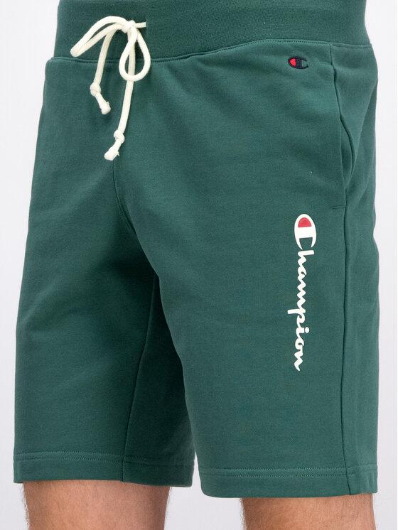 Champion Champion Pantaloncini sportivi 212790 Verde Regular Fit