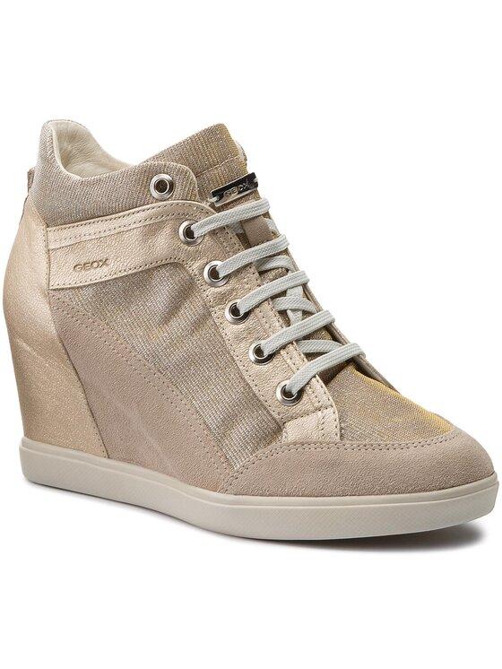 Geox Geox Sneakers D Eleni C D7267C 022EW CH69H Auriu