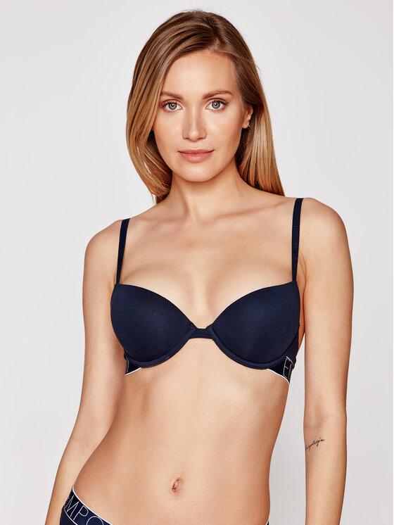 Emporio Armani Underwear Emporio Armani Underwear Biustonosz push-up 164394 1P227 00135 Granatowy