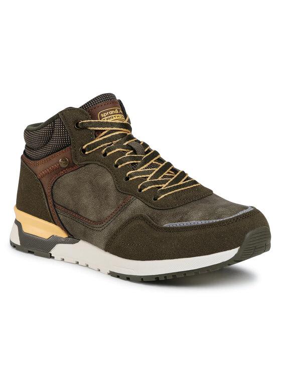 Sprandi Auliniai batai BP07-91336-01 Žalia